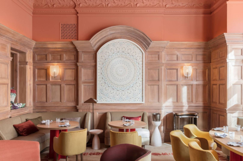 Luxury Restaurants Where Art Is Served-Up luxury restaurant Luxury Restaurants Where Art Is Served-Up helene darroze at the connaught credit jerome galland 1