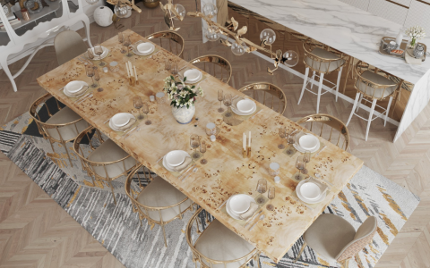 Luxury Dining Rooms Where Exclusive Design Pieces Steal The Spotlight luxury dining room Luxury Dining Rooms Where Exclusive Furniture Steals The Spotlight FT DLE 1 480x300