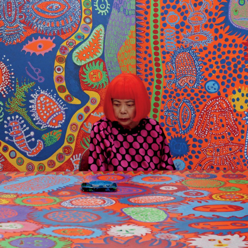 ebook A New Ebook For The Most Avid Art Lovers The dot obsession by Yayoi Kusama artists I Lobo you4 1
