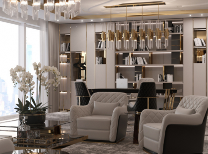 The Most Luxurious Ideas For An Exclusive Office Design