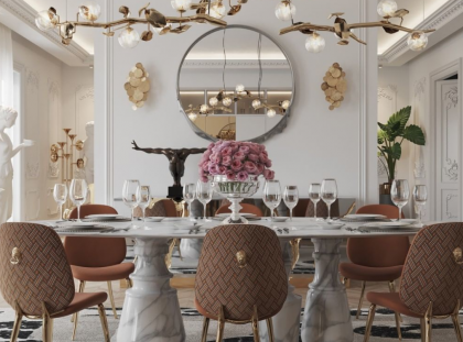 How Limited Edition Furniture Can Transform A Modern Dining Room modern dining room How Limited Edition Furniture Can Transform A Modern Dining Room FT DLE 1 2 420x311