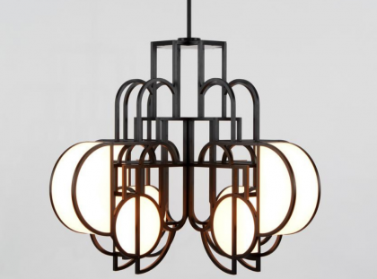Lara Bohinc & Roll & Hill's Exclusive Lighting Collection, Inspired By Lunar Phases lara bohinc Lara Bohinc & Roll & Hill's Exclusive Lighting Collection, Inspired By Lunar Phases FT DLE 6 1 420x311
