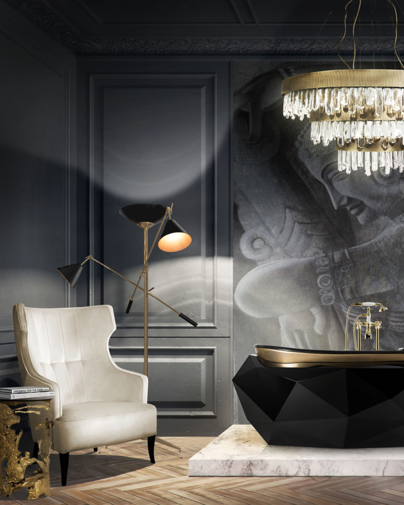 The Ultimate Luxury Guide For A Grand Master Suite Design master suite The Ultimate Luxury Guide For A Grand Master Suite Design Modern Bathroom Design with IGUAZU Armchair 1 1
