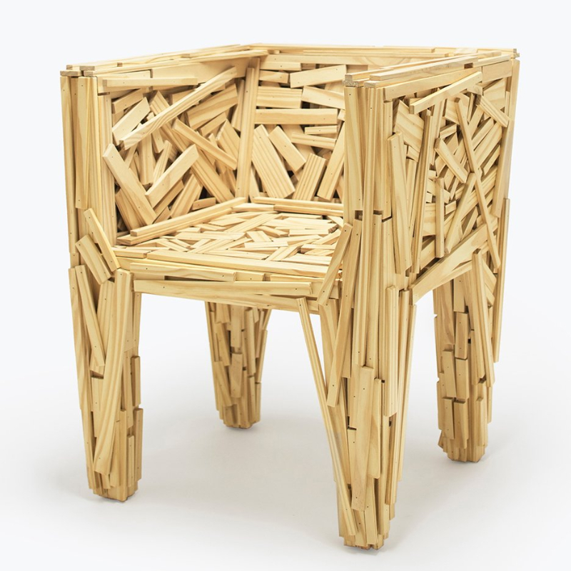 campana brothers The Campana Brothers Change The Concept Of Design By Breaking All The Rules Campana Brothers Favela chair Most loved  dezeen sq 1