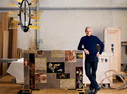 Hervé Van der Straeten Gallery's Most Emblematic Creations hervé van der straeten The Hervé Van der Straeten Gallery – A Dialogue Between Design and Contemporary Art FT DLE 3 420x311