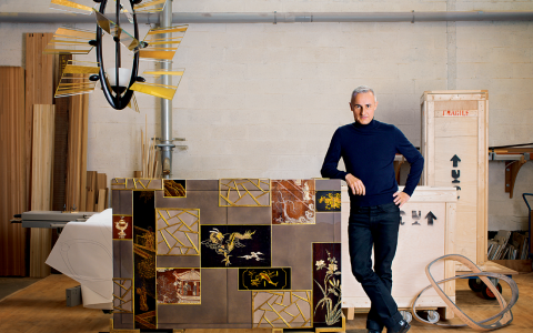 Hervé Van der Straeten Gallery's Most Emblematic Creations hervé van der straeten The Hervé Van der Straeten Gallery – A Dialogue Between Design and Contemporary Art FT DLE 3 480x300