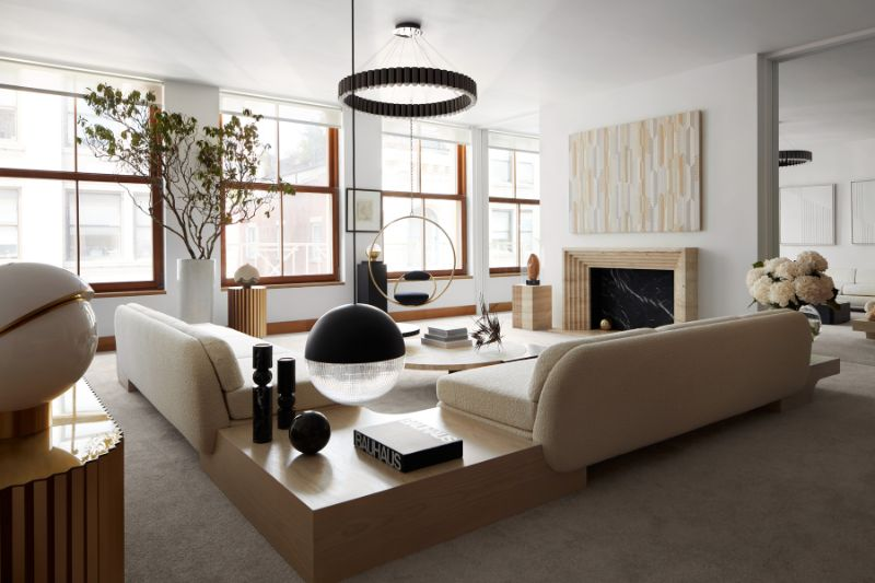 Lee Broom's New York Penthouse Is Both A Modern Home And A Luxury Showroom