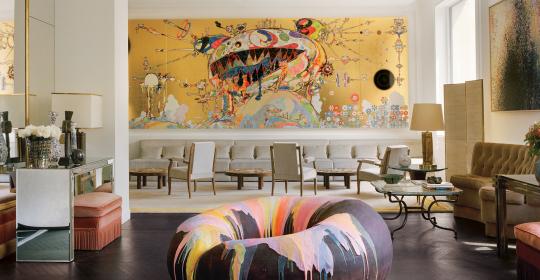 A Creative Paris Apartment Hosting A Major Art Collection