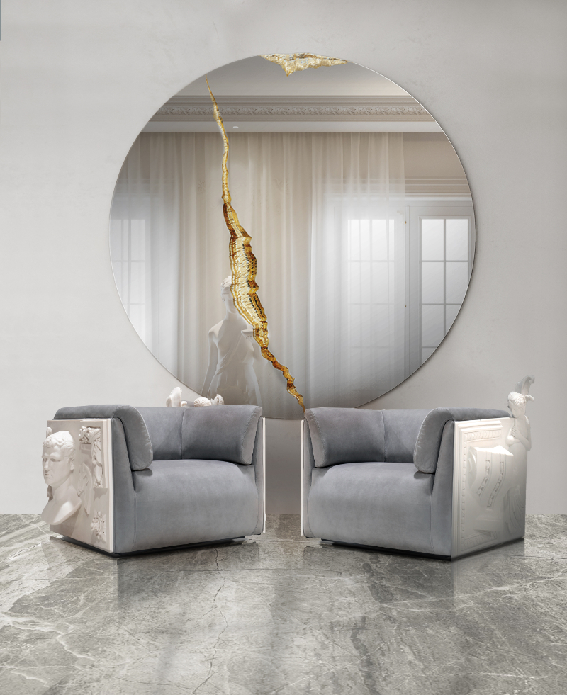 Modern Sofas And Exclusive Armchairs To Revamp Your Home Design