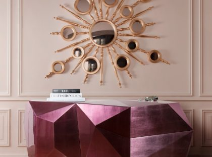 Statement Entryway Design Enhanced With Different Shapes