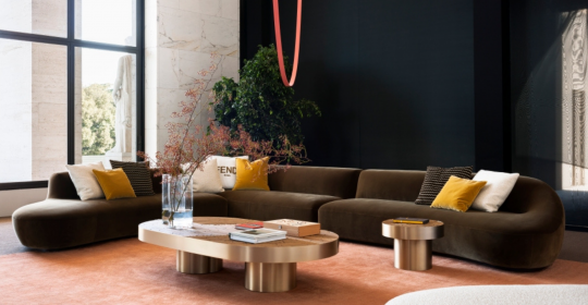 A First Look Of Fendi Casa's New Furniture Collection