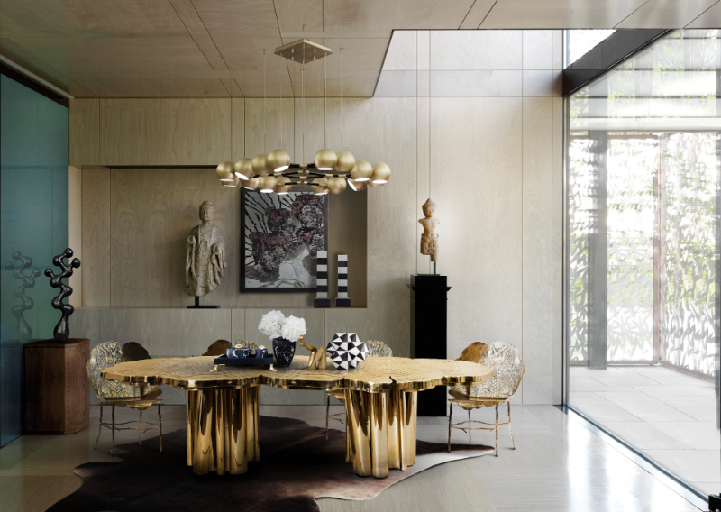 Fortuna - A Statement Luxury Dining Table