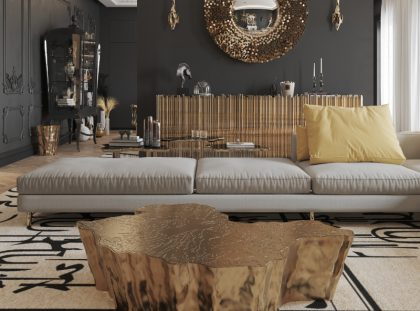 Luxury Center Table For A Dream Living Room