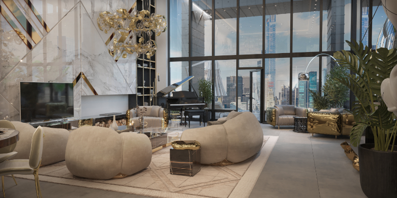 Collectible Design Pieces You Can Find Inside A New York Penthouse
